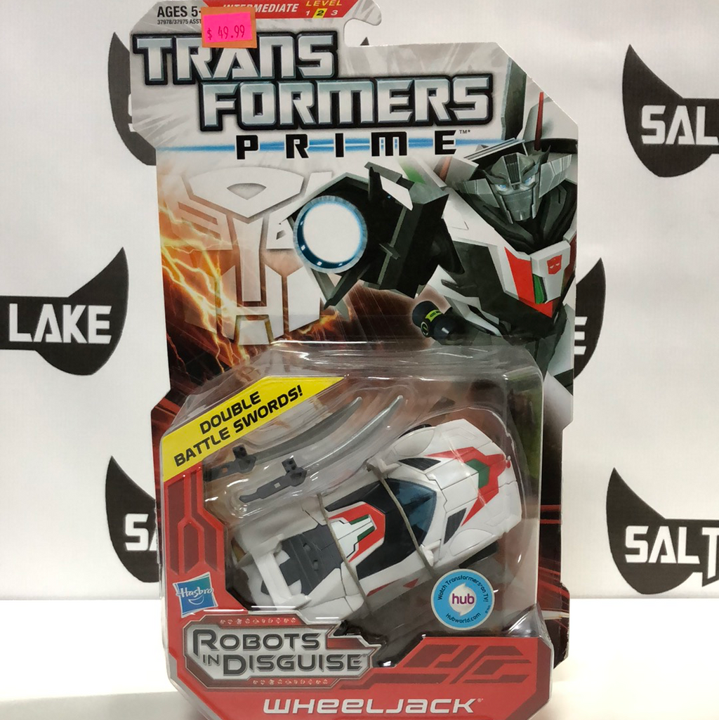 Hasbro Transformers Prime Robots in Disguise Deluxe Class Autobot Wheeljack