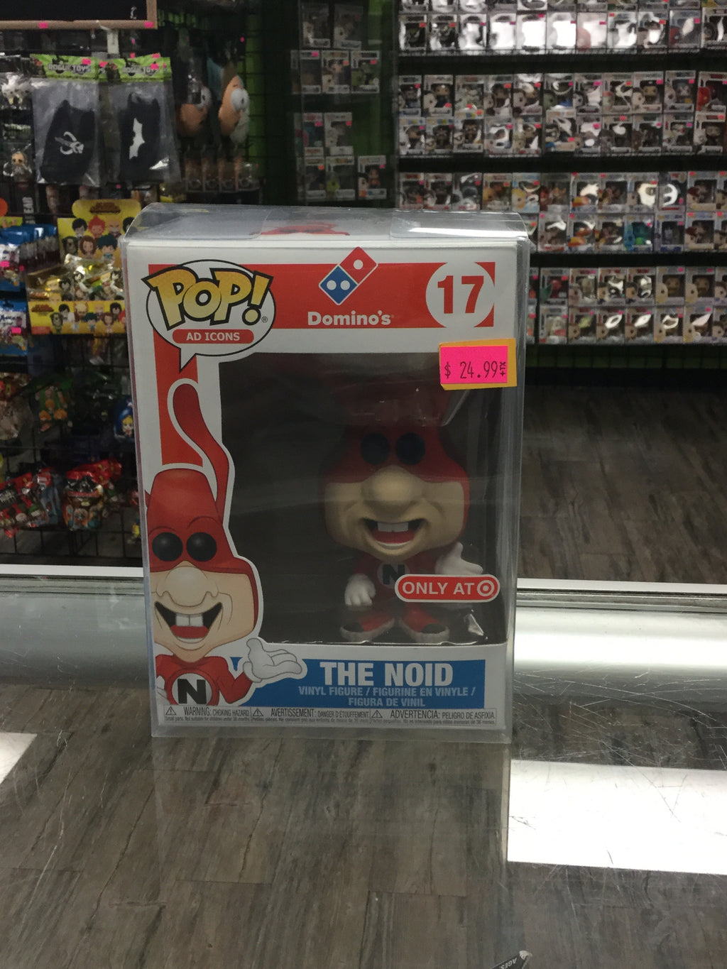 FUNKO POP! Ad Icons #17, Domino's The Noid (Target Exclusive)