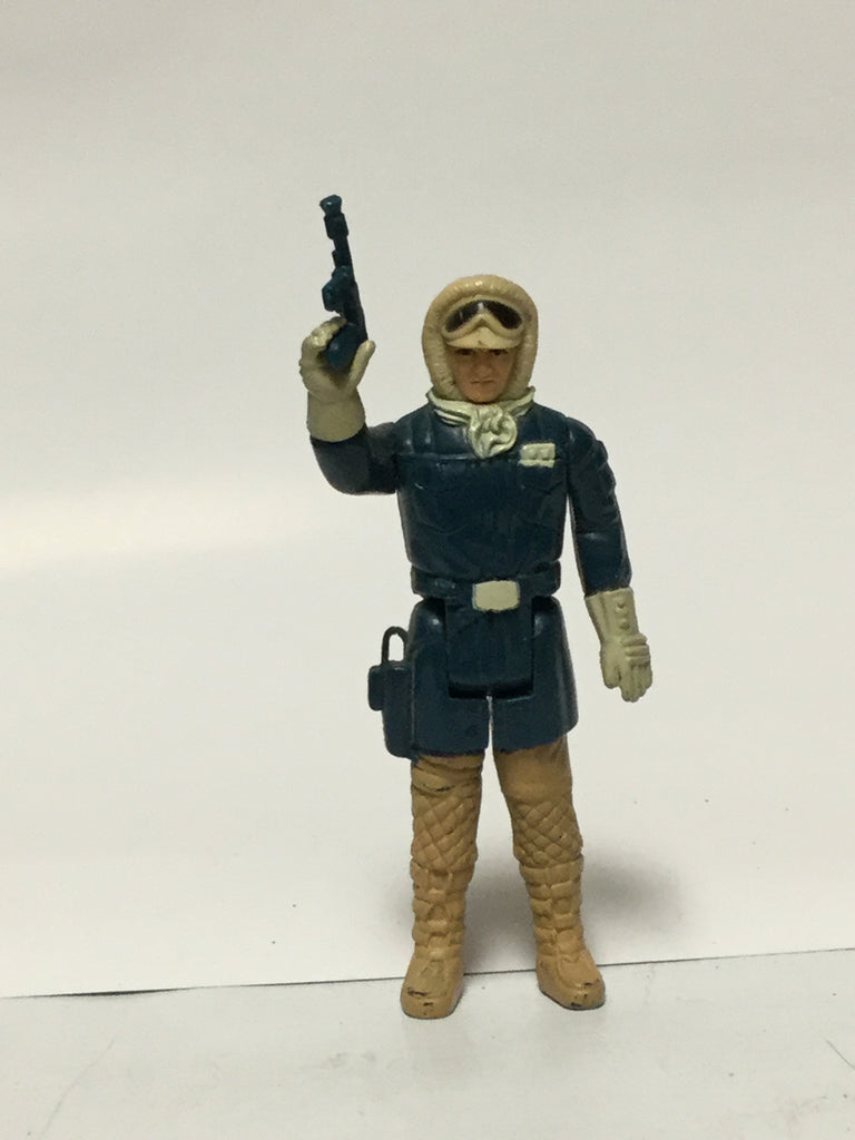 Kenner Star Wars Han Solo Hoth W/ Rebel Blaster