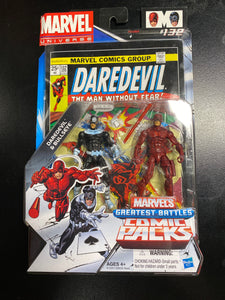 Hasbro Marvel's Greatest Battles Comic Packs Daredevil and Bullseye