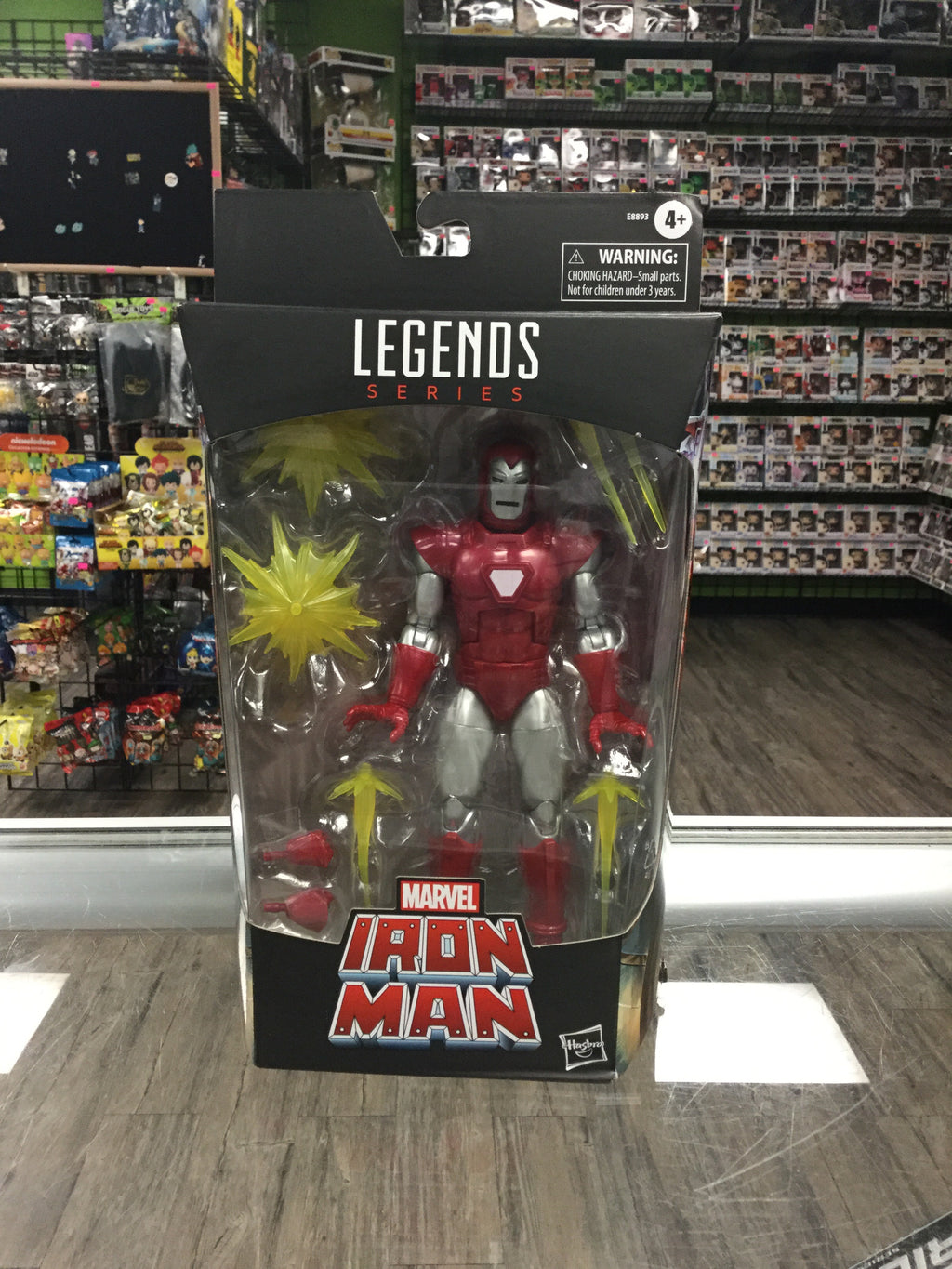 HASBRO Marvel Legends, Silver Centurion Iron Man (Walgreens Exclusive)