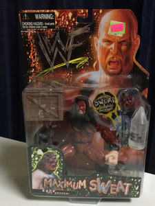 WWF Jakks Pacific Maximum Sweat Kane/Undertaker misprint