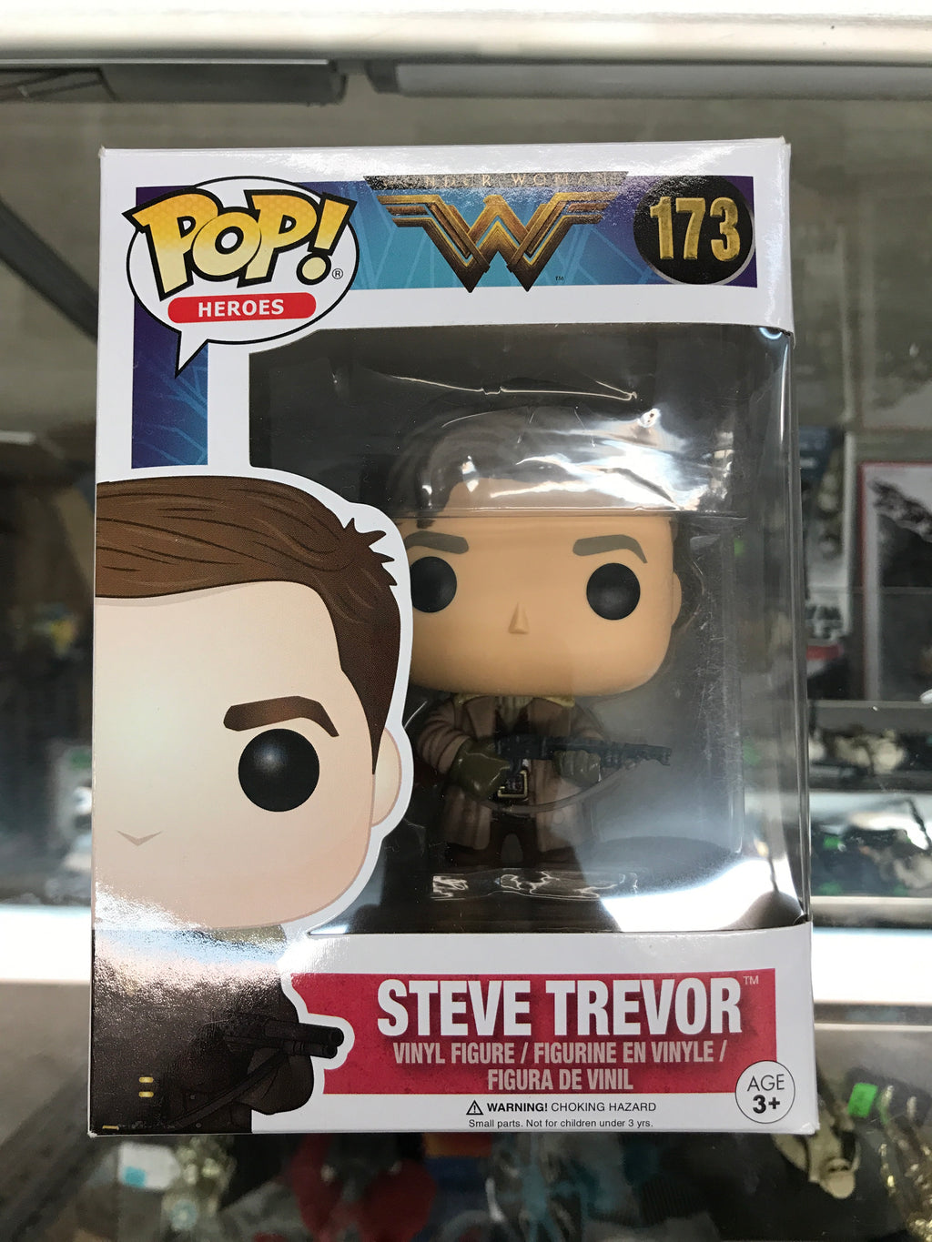 Funko POP! Heroes Wonder Woman Steve Trevor #173