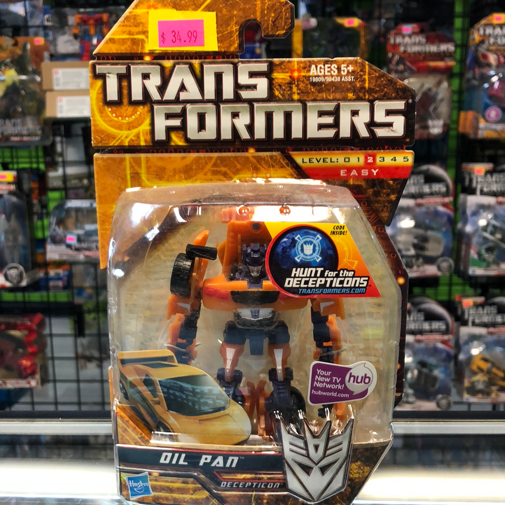 Hasbro Transformers Hunt for the Decepticons Oil Pan