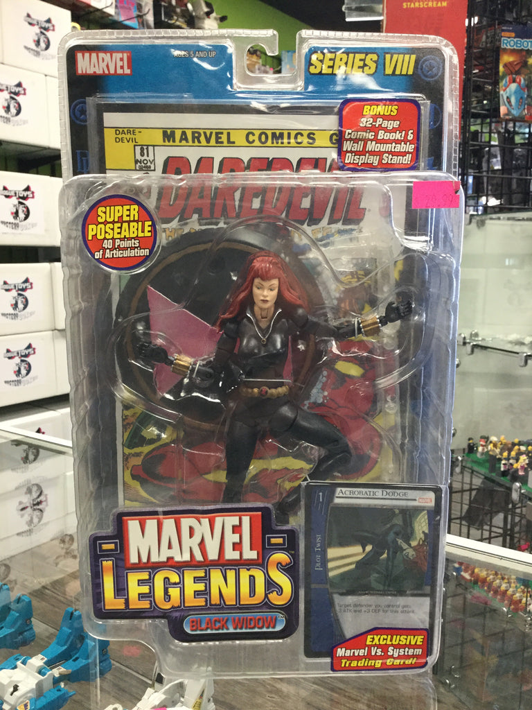 Marvel Legends Series 8 Black Widow
