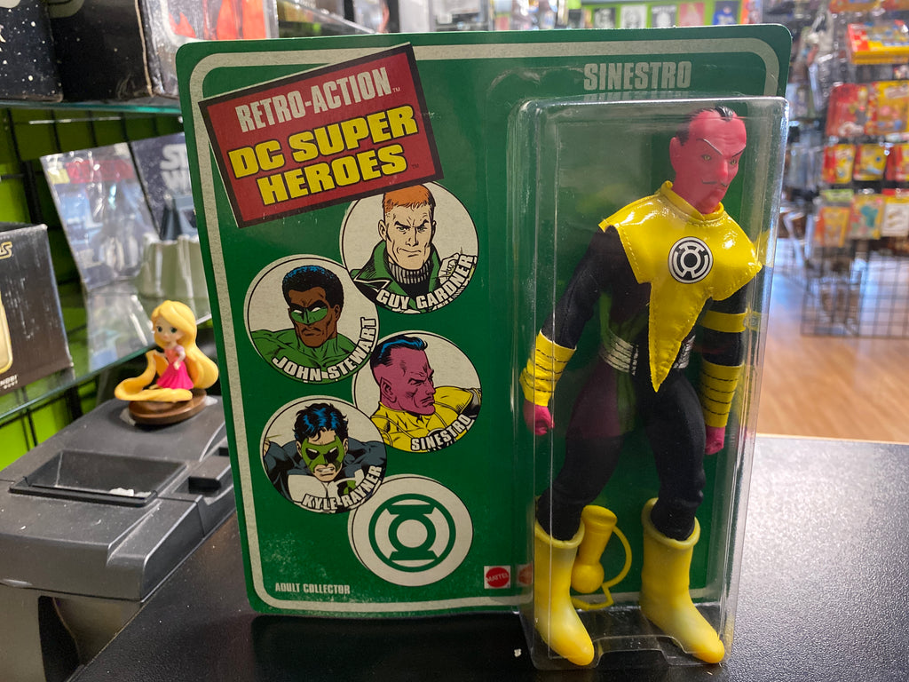 Mattel 2010 Retro-Action DC Superheroes Sinestro