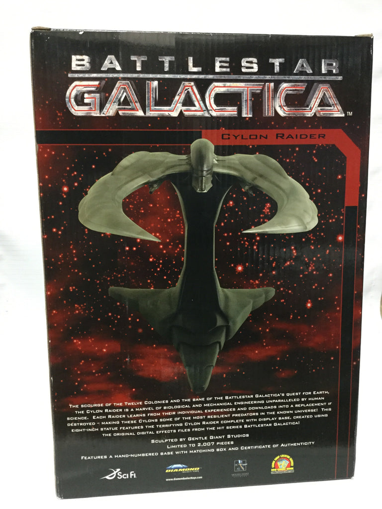 Diamond Select Toys Battlestar Galactica Cylon Raider