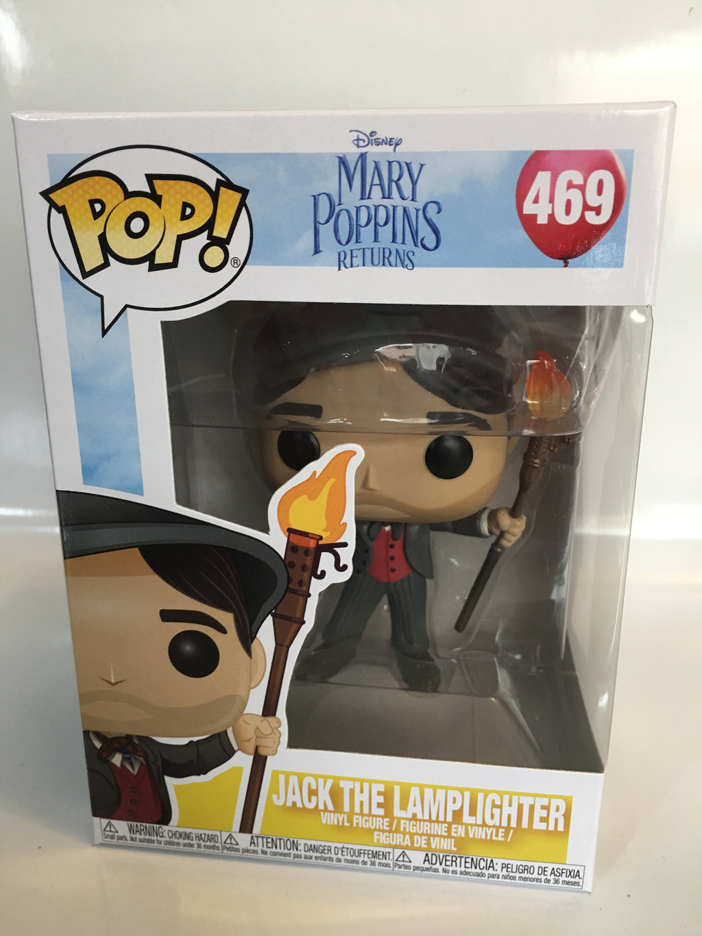 Funko Pop Disney Mary Poppins Returns Jack the Lamplighter 469