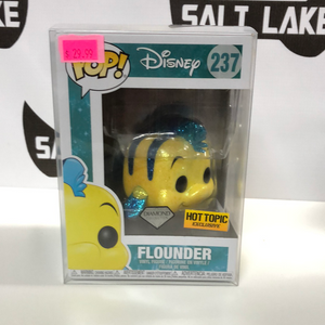 Funko Pop Disney Flounder Hot Topic Exclusive.