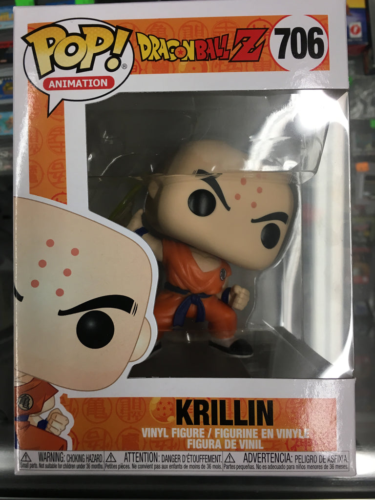 Funko Pop! Animation- DragonBall Z Krillin #706