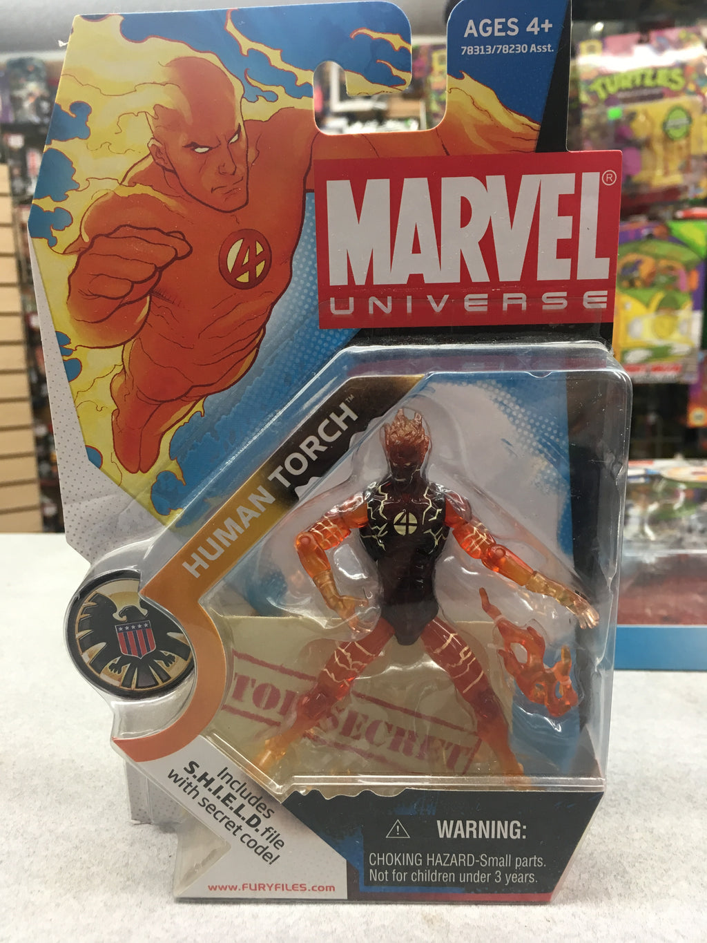 Marvel Universe Human Torch