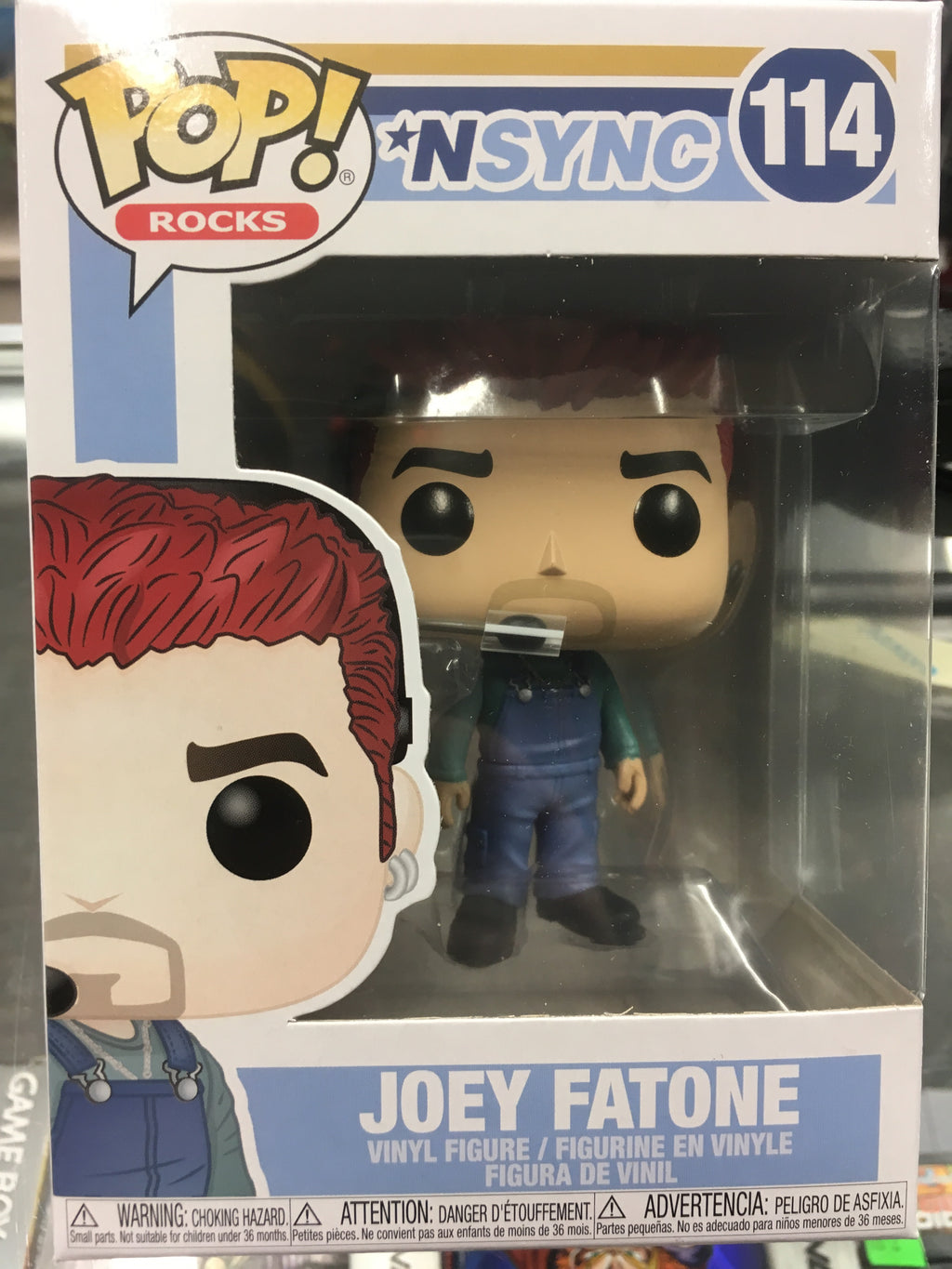 Funko POP! Rocks *NSYNC Joey Fatone #114