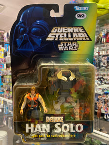 Kenner Guerre Stellari Star Wars Deluxe Han Solo