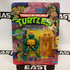 Playmates Teenage Mutant Ninja Turtles Michaelangelo 10-Back (Hard Head)