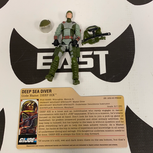 Hasbro GI Joe 25th Anniversary Deep Six