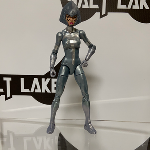 Hasbro Marvel Legends Custom Lilandra (Kingpin wave Silver Sable with Deluxe Professor X's Lilandra head)