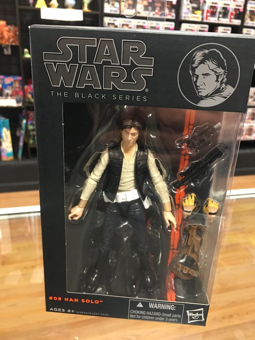 Star Wars Black Series Han Solo 08 Hasbro