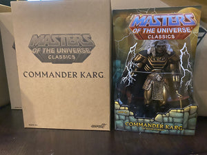 Super 7 He-Man And The Masters Of The Universe Commander Karg