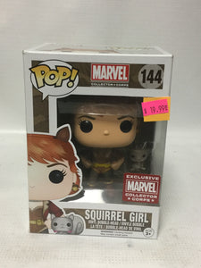 Funko POP! Marvel Collector Corps 144 Squirrel Girl Marvel Collector Corps Exclusive