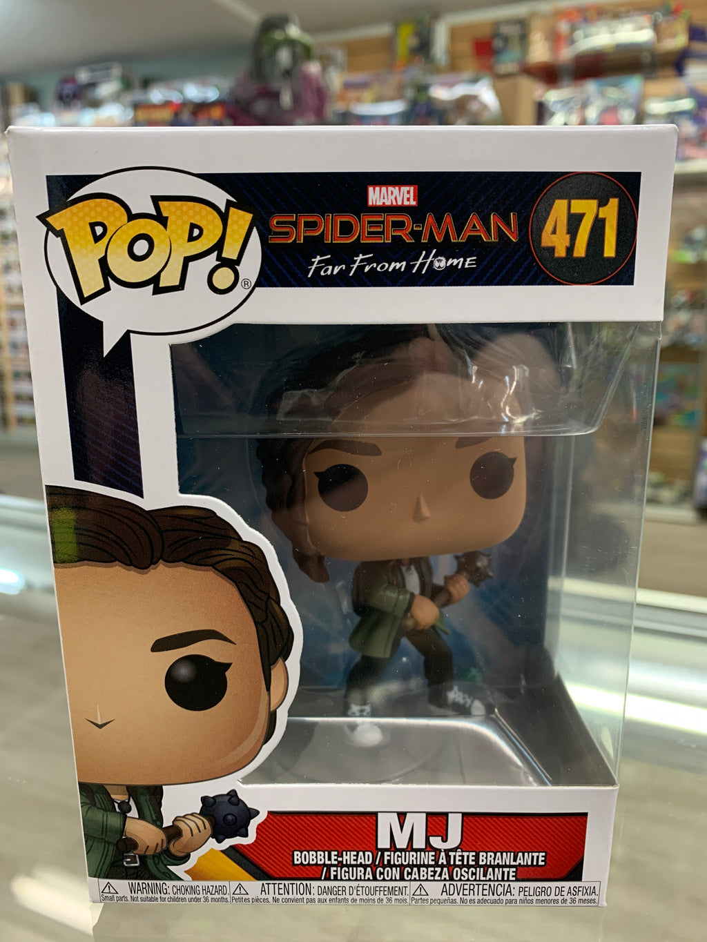 Funko Pop! Spider-Man Far From Home MJ #471