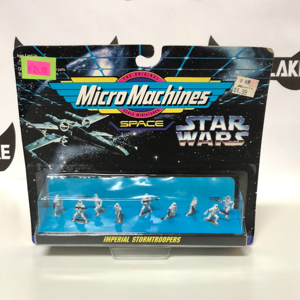 Galoob Micro Machines Star Wars Imperial Stormtroopers