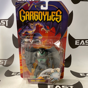 Kenner 1995 Gargoyles Steel Clan Robot with Exploding Body Power