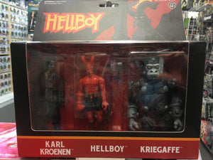 Super7 ReAction Figures- Hellboy 3-Pack: A