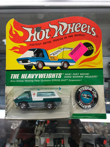 Mattel Hot Wheels Red Lines The Heavyweights Ambulance