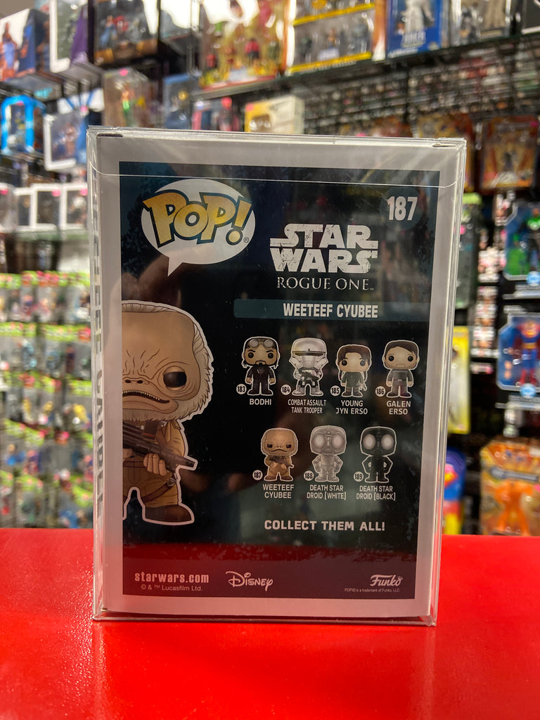 Funko Pop! Star Wars Rogue One Weeteef Cyubee #187