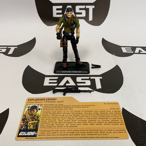 GI Joe  25th Anniversary Comic Pack Tunnel RAT