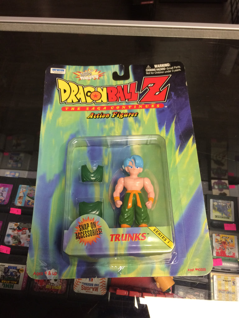 DragonBall Z The Saga Continues Trunks Series 3