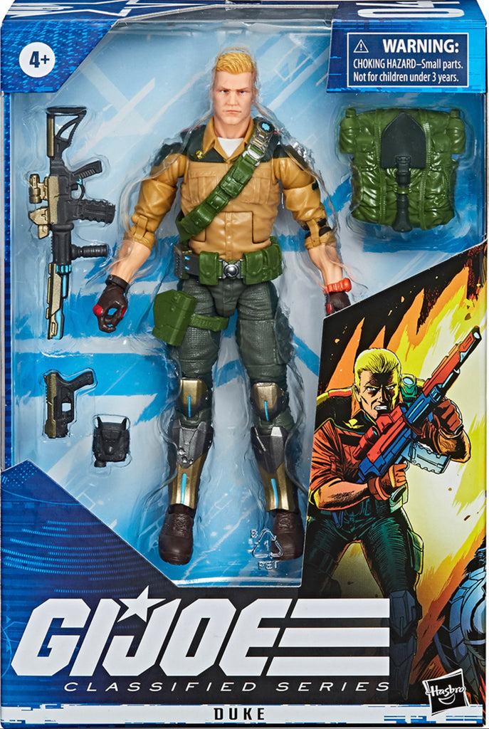 Hasbro G.I. Joe Classified Duke