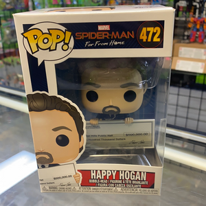 Funko Pop! Marvel Spider-Man Happy Hogan #472