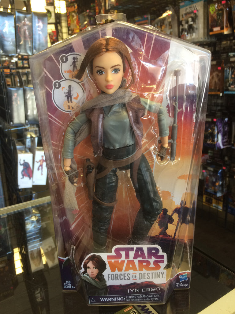 Star Wars Forces of Destiny Jyn Erso Hasbro