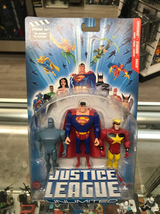 Justice League Unlimited Superman, Starman & Amazo 3-pack