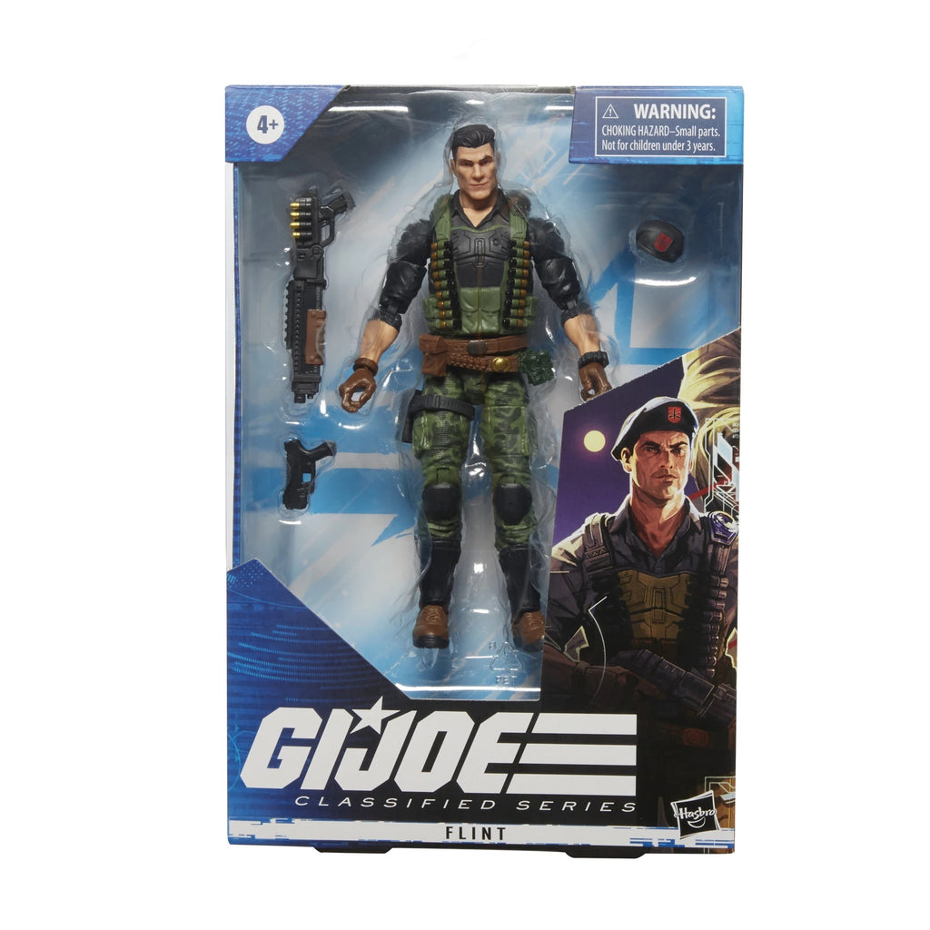Pre-Order Hasbro GI Joe Classifieds Flint (No discounts)
