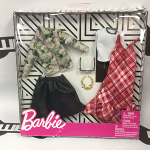 "MATTEL Barbie Deluxe Fashion Pack - ""Mad for Tartan"""