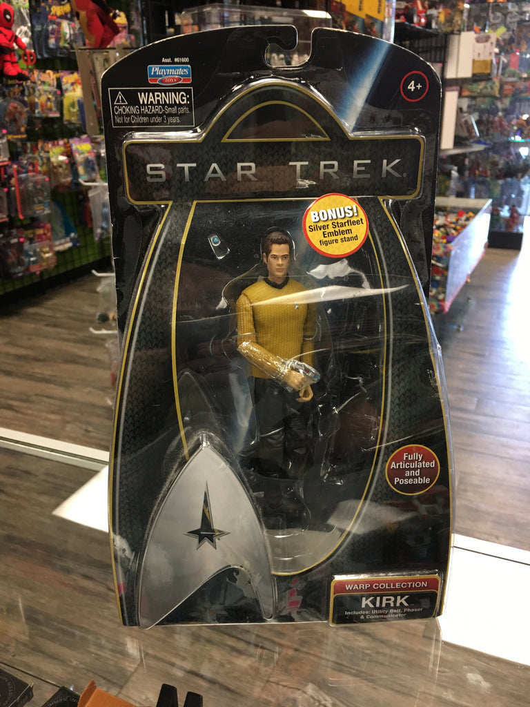 Star Trek Movie Kirk Warp Collection
