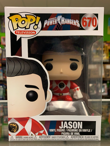 Funko POP! Television Power Rangers Jason 670