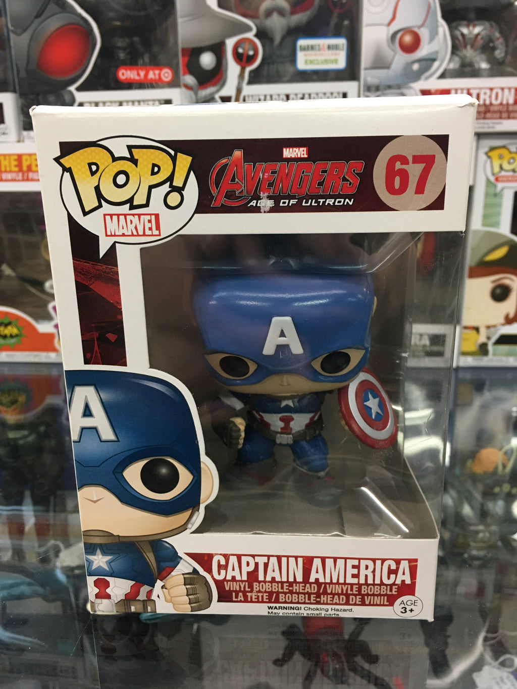 Funko POP! Marvel Age of Ultron Captain America #67