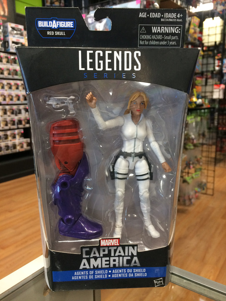 Hasbro Marvel Legends Sharon Carter Agents of Shield (red onslaught wave)