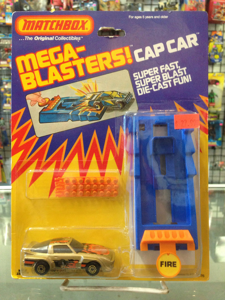 Matchbox Mega-Blasters Cap Car