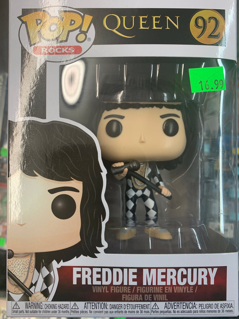 Funko POP! Rocks Queen Freddie Mercury #92