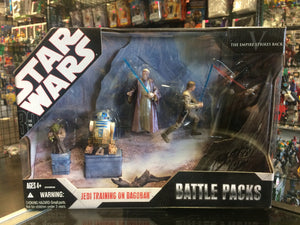 Hasbo Star Wars 30th Anniversary Battle Packs Jedi Training on Dagobah