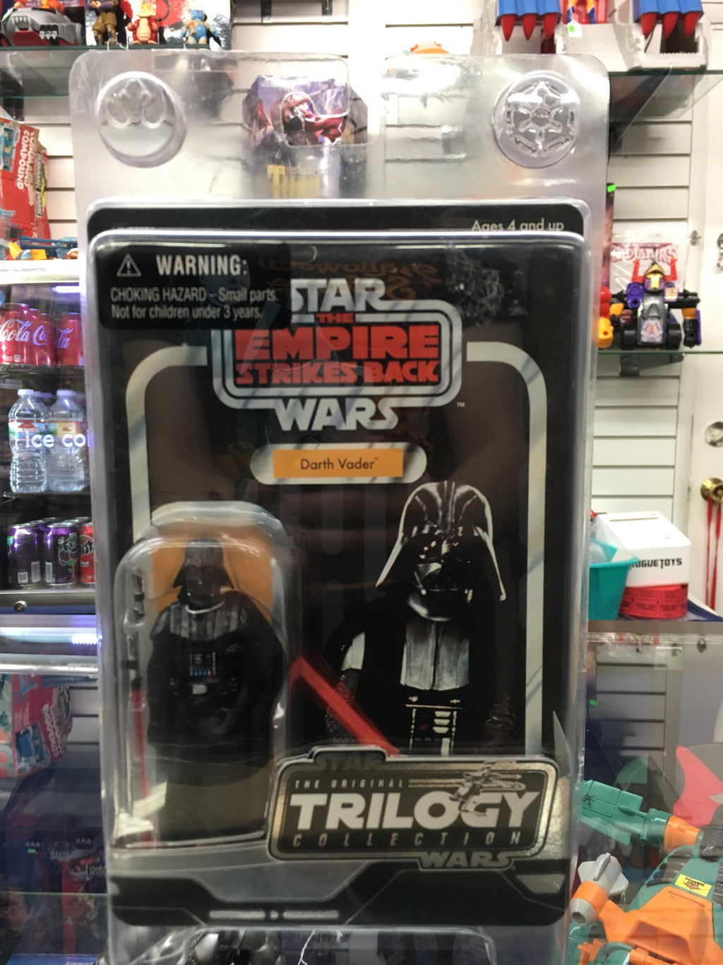 Star Wars The Original Trilogy Collection The Empire Strikes Back Darth Vader