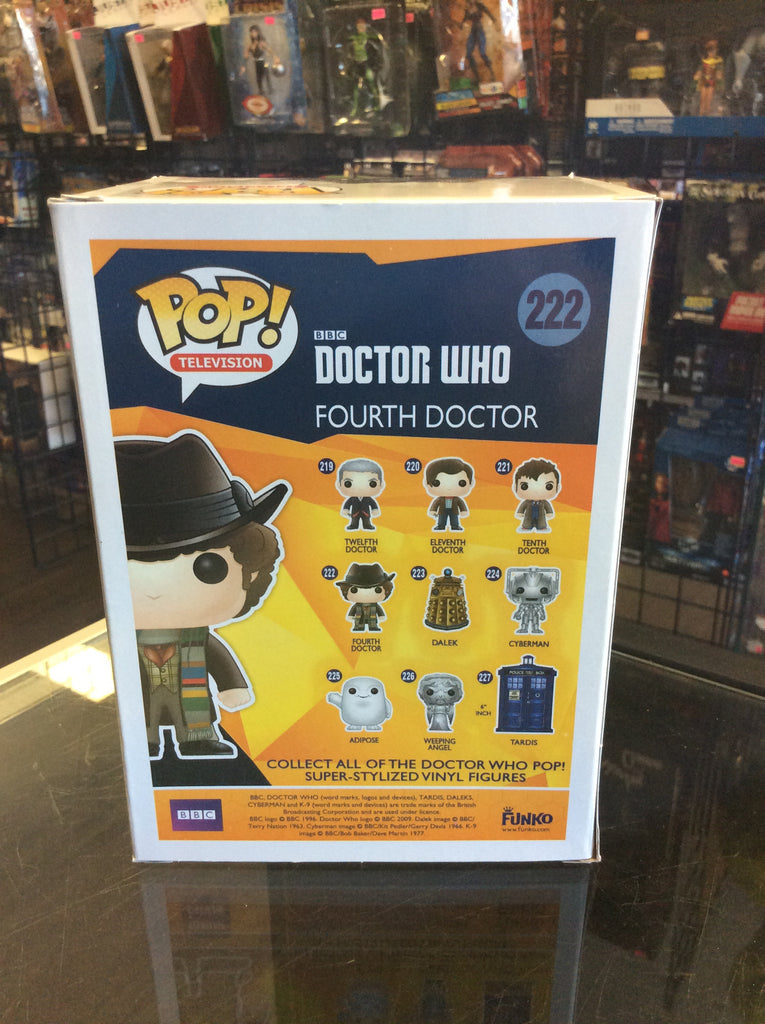 Funko Pop! Television Doctor Who Fourth Doctor #222