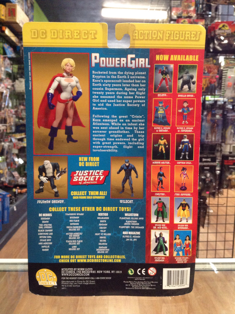 DC Direct Justice Society Of America Power Girl