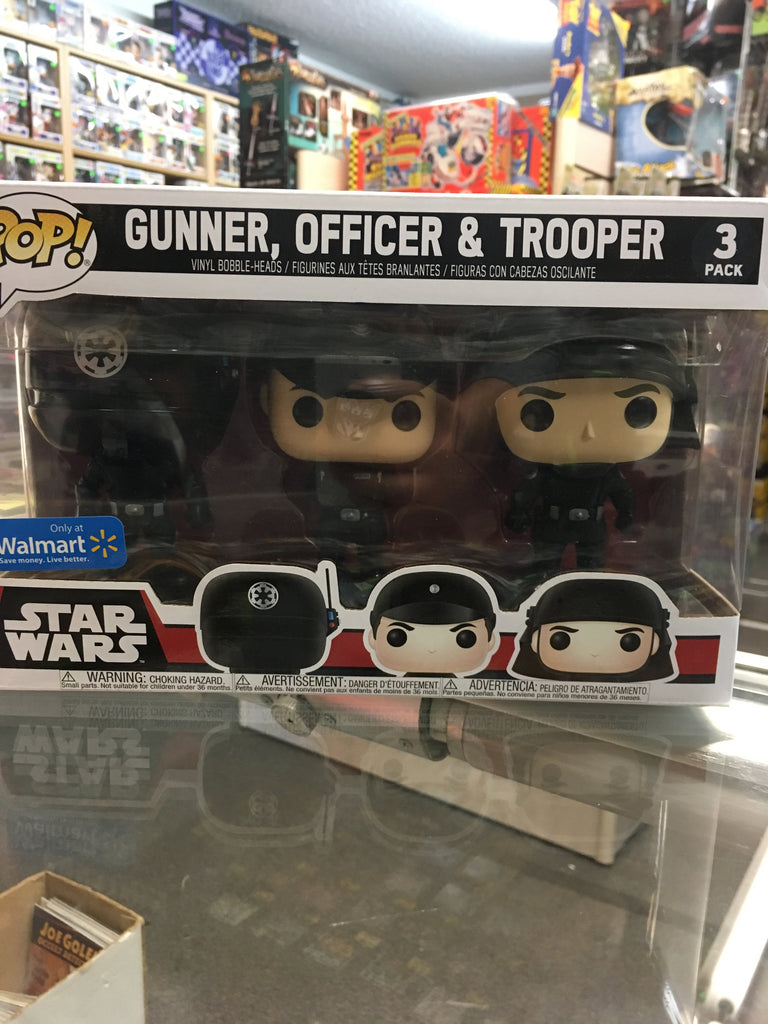 Funko POP! Star Wars Gunner, Officer & Trooper 3pk (Walmart)