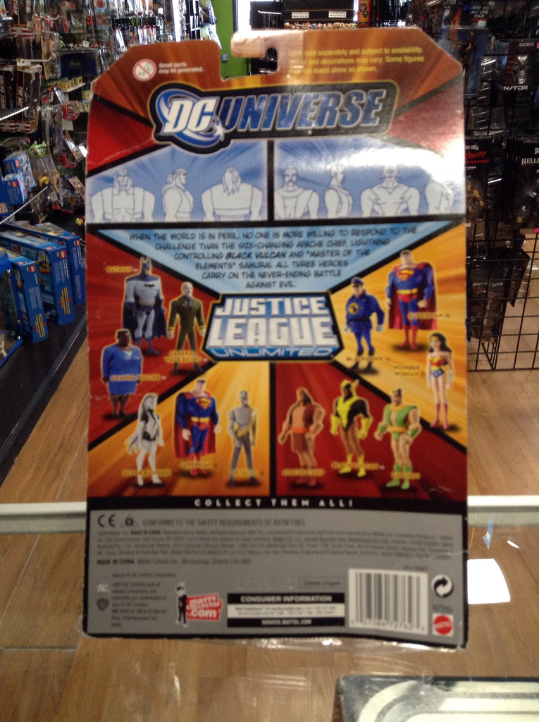 Mattel DC Universe Justice league Unlimited