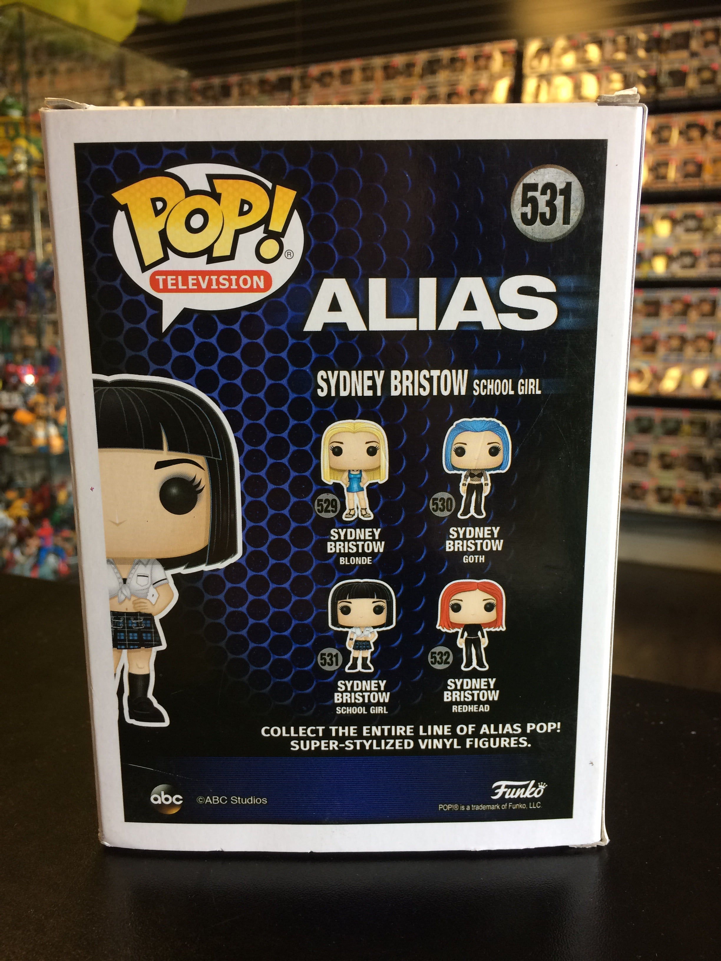 School Girl Funko POP!//ALIAS-SYDNEY BRISTOW #531